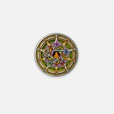 Beltane Pentacle Mini Button