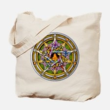 Beltane Pentacle Tote Bag