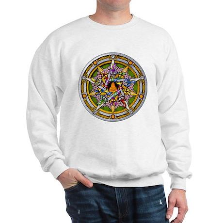 Beltane Pentacle Sweatshirt