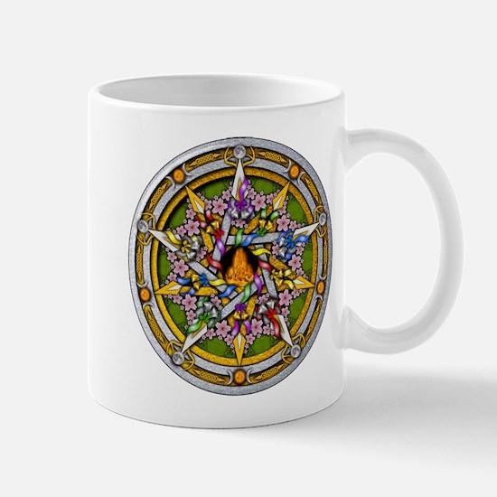Beltane Pentacle Mug