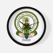 Smith Clan Motto Wall Clock
