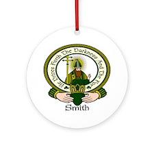 Smith Clan Motto Ornament (Round)