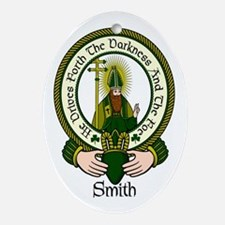 Smith Clan Motto Oval Ornament