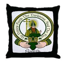 Smith Clan Motto Throw Pillow