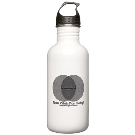 Funny Illusion Stainless Water Bottle 1.0L