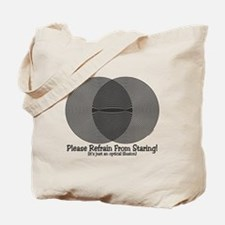 Funny Illusion Tote Bag