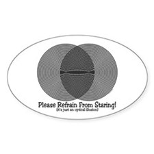 Funny Illusion Decal