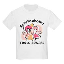Aphrilophobia April Fool's Day Kids T-Shirt