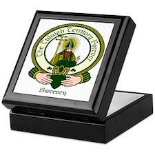 Sweeney Clan Motto Keepsake Box