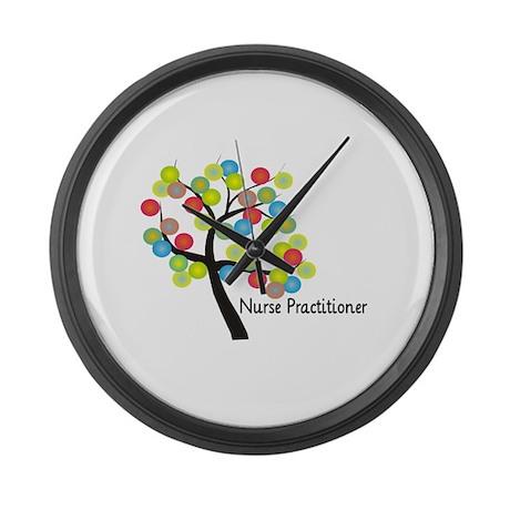 Nurse Practitioner II Large Wall Clock