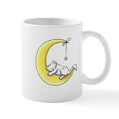 White Kitty Lunar Love Mug