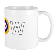 Spitfire WWII markings Small Mug
