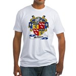 McEwan Coat of Arms Fitted T-Shirt