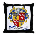 McEwan Coat of Arms Throw Pillow