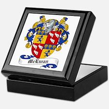 McEwan Coat of Arms Keepsake Box