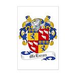 McEwan Coat of Arms Mini Poster Print