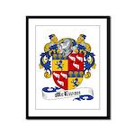 McEwan Coat of Arms Framed Panel Print