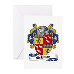 McEwan Coat of Arms Greeting Cards (Pk of 10)