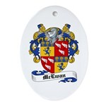 McEwan Coat of Arms Oval Ornament