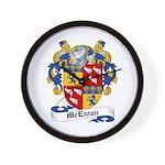 McEwan Coat of Arms Wall Clock