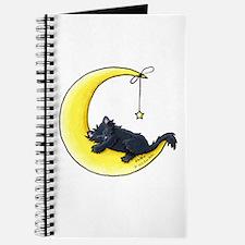 Black Kitty Lunar Love Journal