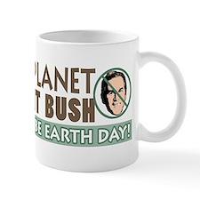 Earth Day Anti-Bush Mug