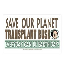 Earth Day Anti-Bush Postcards (Package of 8)