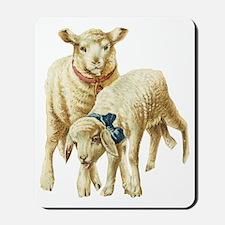 Lamb drawing Mousepad