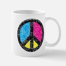 Peace Sign Vintage Mug