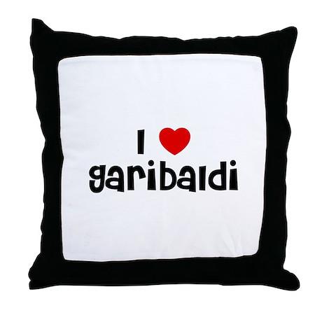 I * Garibaldi Throw Pillow