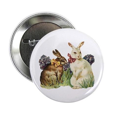 Easter Bunnys Button