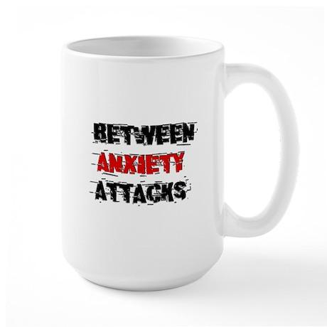Anxiety Attacks (1) Large Mug