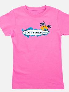 Folly Beach SC - Surf Design T-Shirt