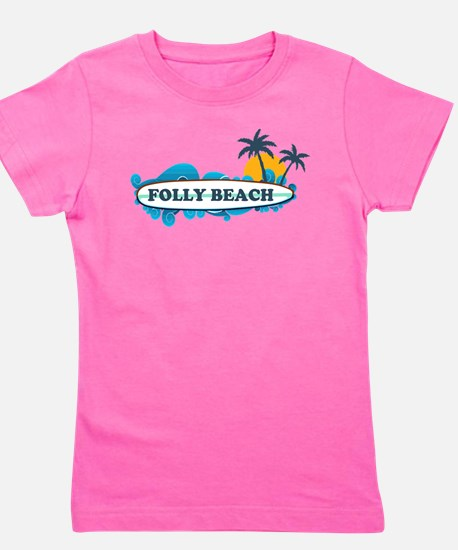 Folly Beach SC - Surf Design T-Shirt