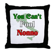 You can't fool Nonno Throw Pillow