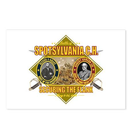 Spotsylvania C.H. Postcards (Package of 8)
