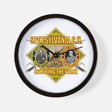 Spotsylvania C.H. Wall Clock