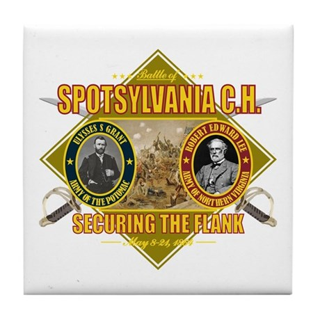 Spotsylvania C.H. Tile Coaster