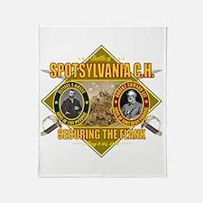 Spotsylvania C.H. Throw Blanket