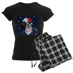 Shih Tzu Santa Pajamas