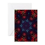 Tie Dye Greeting Cards (Pk of 10)