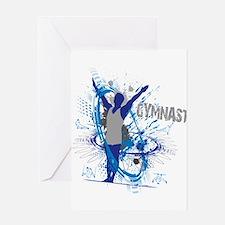 Male_Gymnast Greeting Cards