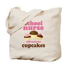 Funny School Nurse Tote Bag