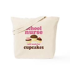 Funny School Nurse Tote Bag