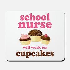 Funny School Nurse Mousepad