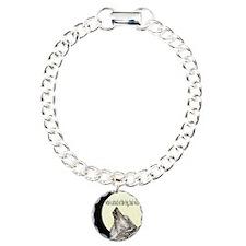 "Twilight ""Big Bad Wolf"" Charm Bracelet,"