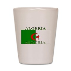 Algeria Algerian Flag Shot Glass