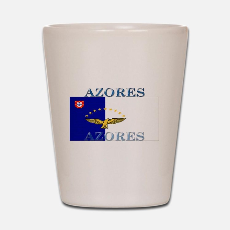Azores Flag Shot Glass