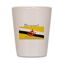 Brunei Flag Shot Glass