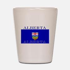 Alberta Albertan Flag Shot Glass